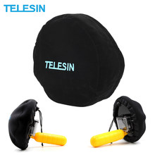 TELESIN Nylon Case Dome port cover For Gopro Dome Bag For Go Pro 5 and for Xiaomi Yi for SJCAM Action Camera(China)