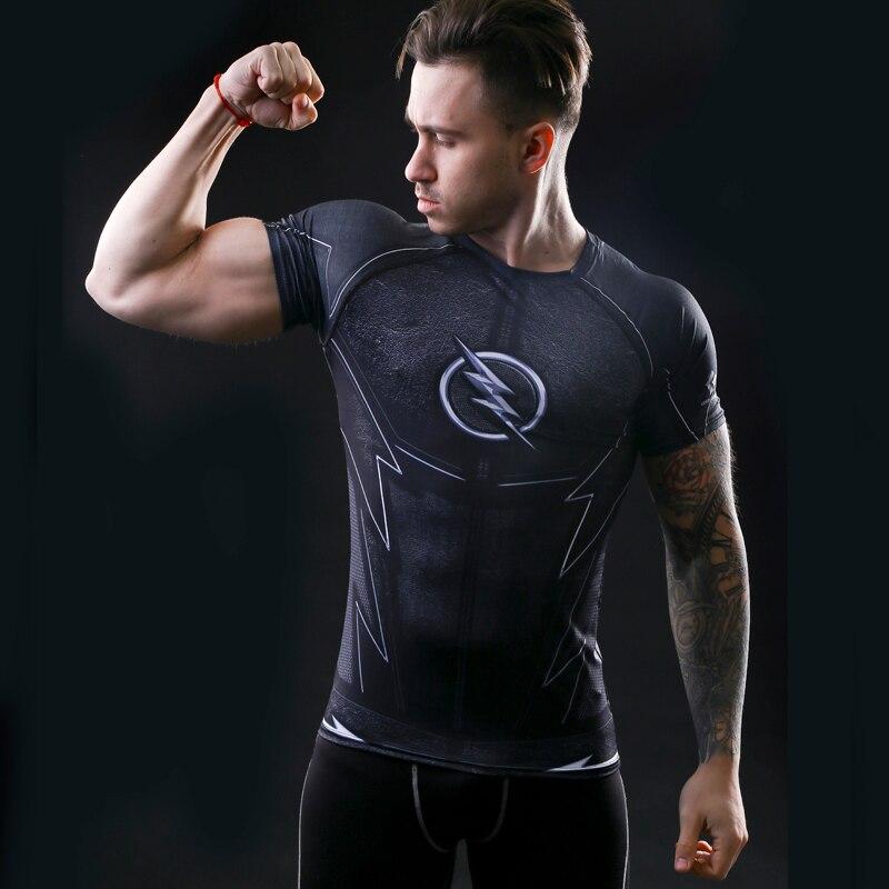 T-shirt Kapten Amerika inbördeskrig utslagsplats 3D-tryckta T-shirts - Herrkläder - Foto 5