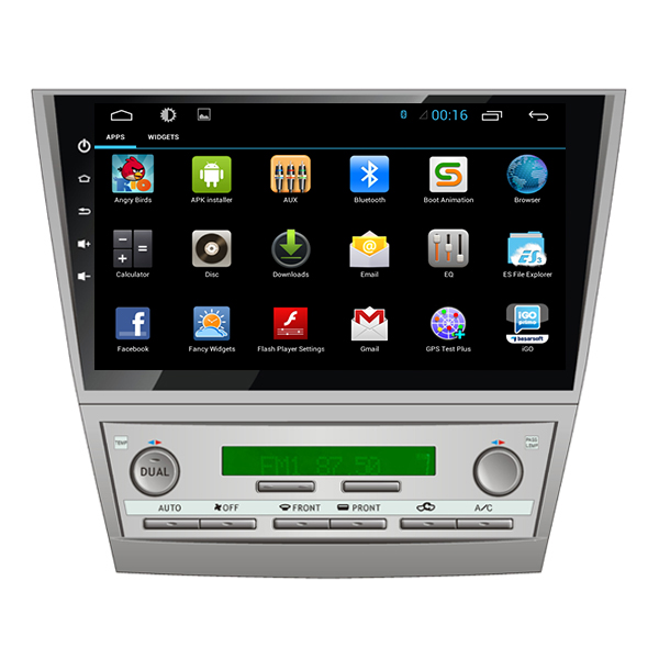 10 2 hd 1024 600 android 5 1 car dvd gps for toyota camry 2007 2008 200. Black Bedroom Furniture Sets. Home Design Ideas