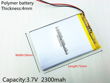 3.7V 2300mAh 415071 Polymer lithium ion / Li-ion battery ( ATL cell) for tablet pc,POWER BANK,pipo,cube,cell phone