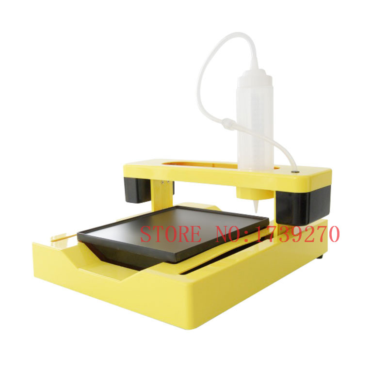 CE approved new arrival DIY 3d pancake printer making machine,food cholocate printer flsun 3d printer big pulley kossel 3d printer with one roll filament sd card fast shipping