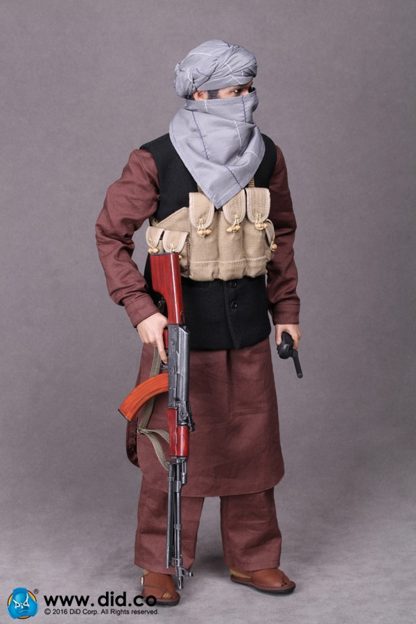 1//6 Scale Arbaaz Afghan Fighter Nude Figure DID Action Figures