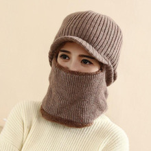 SUOGRY Winter Hat Skullies Beanies For Men Women Wool Scarf Cap Balaclava Mask Gorras Bonnet Knitted Hats