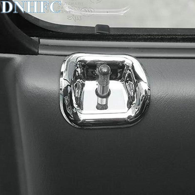 DNHFC door safety lock decorative cover For Suzuki Jimny 2011 2012 2013 2014 2015 2016