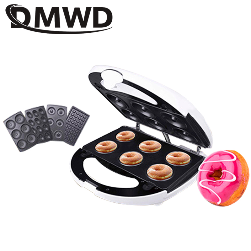 DMWD Multifunction Electric Egg Waffle Maker Muffin Pancake Donut Walnut Cake Machine Iron Baking Pan 4 Changeable Plates EU USDMWD Multifunction Electric Egg Waffle Maker Muffin Pancake Donut Walnut Cake Machine Iron Baking Pan 4 Changeable Plates EU US