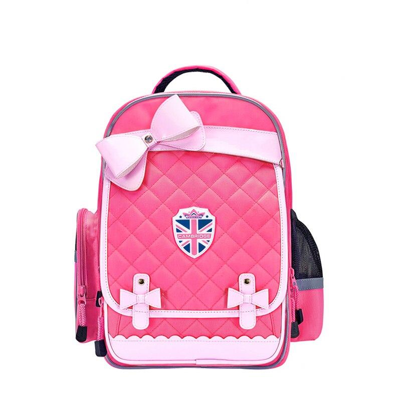 Children School Bags For Girls Princess School Backpacks Kids Pink Bow Backpacks Waterproof Schoolbag Kids Mochila Infantil