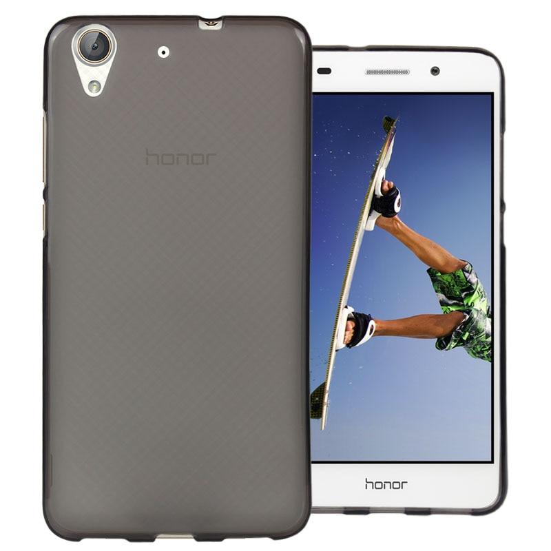 Huawei Y6 II Case Cover 5.5 inch High Quality TPU Soft Phone Case For Huawei Y6II Y6 II Cover 4 Colors Huawei Y6II Back Cover