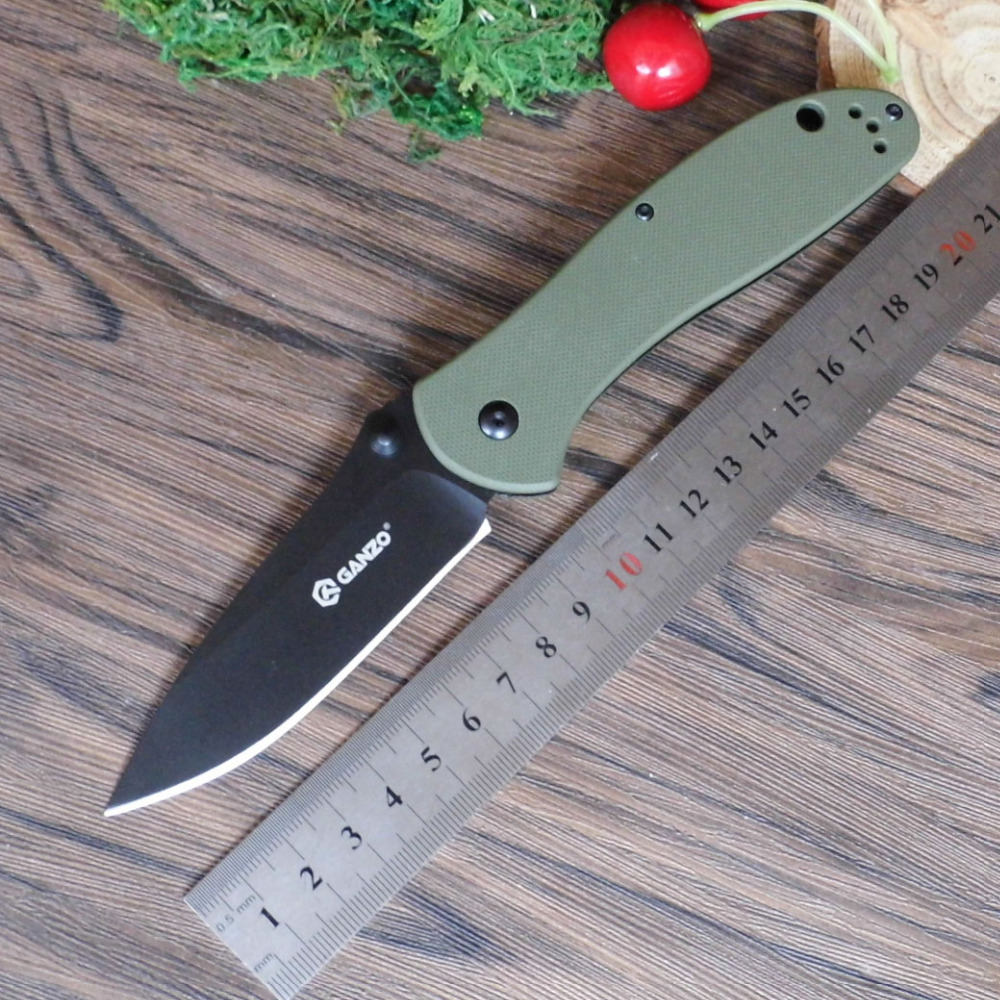 Firebird Ganzo G7393 440C blade G10 Handle Folding knife Survival Camping tool Hunting Pocket Knife tactical edc outdoor tool