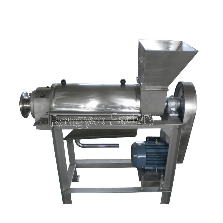 100 500kg/h Spiral Juice Extractor multi function Juicer Industrial auto apple/orange/vegetable juicer apple juicer