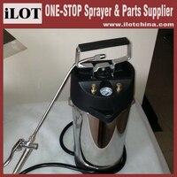 Ручной насос iLOT сверхмощный высокого качества 10L из нержавеющей стали опрыскиватель