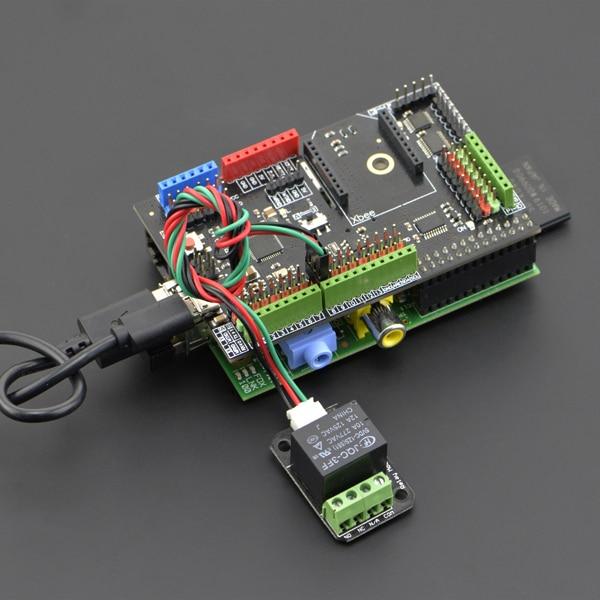 Raspberry Pie Model B Extended Board with ATmega32u4