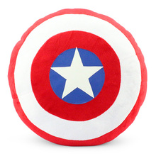 1Pcs The Superheroes Captain America 2 Plush Toy Pillow Stuffed Soft Dolls 35cm Approx Great Gift