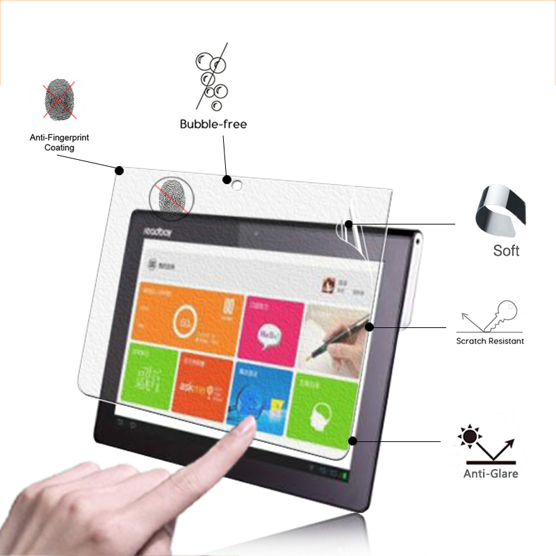 On Sale!Anti-Glare Screen Protector Film Matte Film For ReadBoy G50 10.1 tablet front screen protective film + Retail package image
