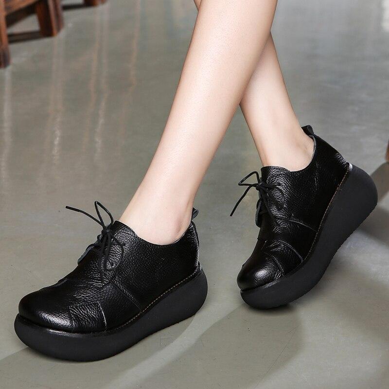 0514663aa20 Tyawkiho Genuine Leather Women Sandals Embroidery 6 CM High Heels ...