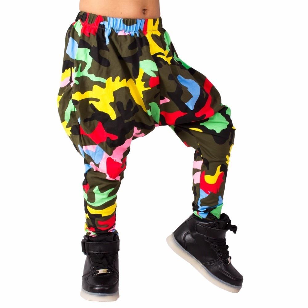 Heroprose 2018 Nieuwe persoonlijkheid Kleurrijke Camo big crotch - Kinderkleding - Foto 2