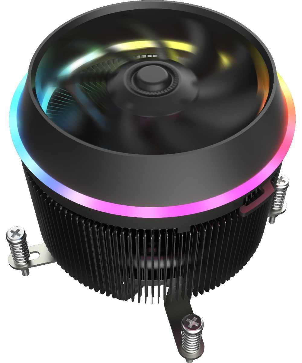 Aigo CPU del dispositivo di Raffreddamento 5V 280W TDP 4pin LED PWM RGB Ventola Del Radiatore di Raffreddamento della Scheda Madre di Controllo di Sincronizzazione di Raffreddamento per intel AM3/AM4/2011/LGA