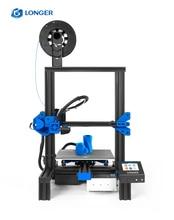 цена на LONGER 3D Printer FDM LK2 High Precision Printing Touch Screen Power Failure Printing DIY Kit