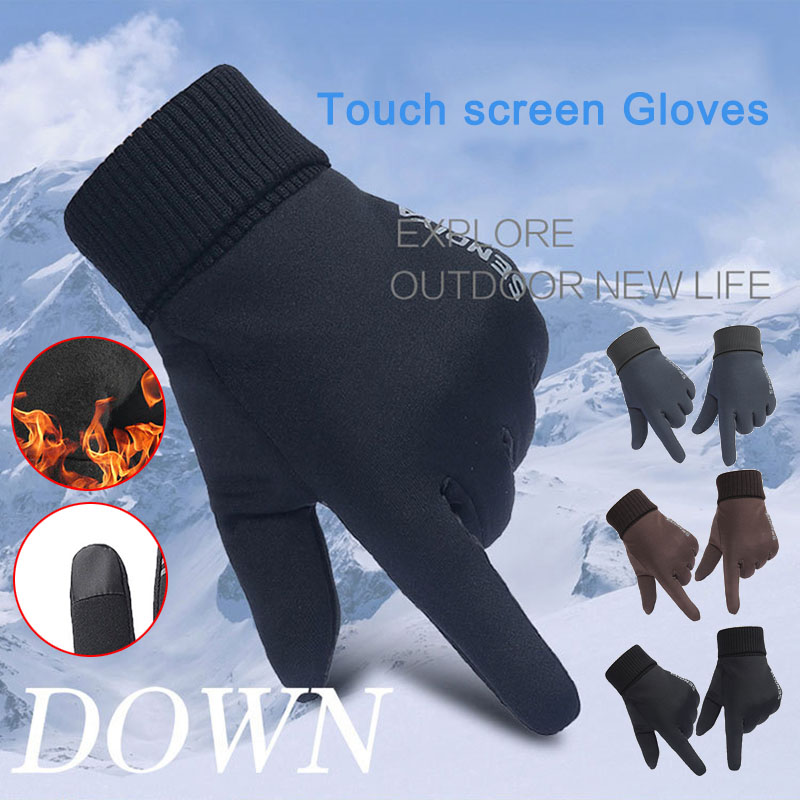 1 Para Unisex Winter Touchscreen Handschuhe Soft Liner Thermische Walking Sport Laufschuhe Fäustlinge Neue Dauerhaft Im Einsatz