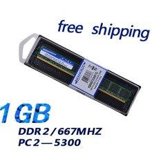 KEMBONA in stock free fast delivery 64mb*8 1gb bulk ddr2 1g ram memory for desktop