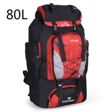2019 Backpacks 80L Camping Hiking Backpack Bag Outdoor Sports Bags Travel Waterproof Shoulder Men Climbing Fishing Rucksack стоимость