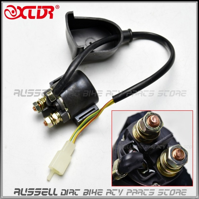 Starter Solenoid Switch Relay For kawasaki suzuki honda yamaha Dirt