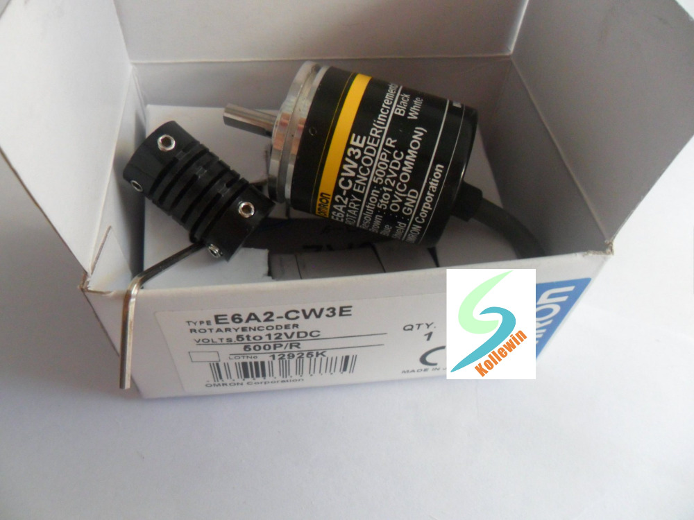 Freeshipping  OMR Incremental Rotary Encoder  E6A2-CW3E 500P/R, E6A2CW3E 500P/R NEW in Box, E6A2CW3E 500PPR e6a2 cs5c 50p r rotary encoder new e6a2cs5c 50p r 50pr compact size e6a2 cs5c
