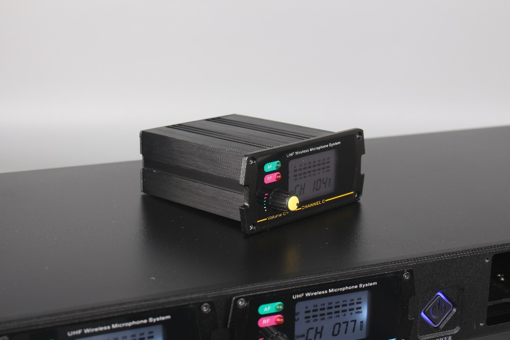 4-kanalni bežični mikrofonski sustav 8000G profesionalni UHF kanali - Prijenosni audio i video - Foto 6