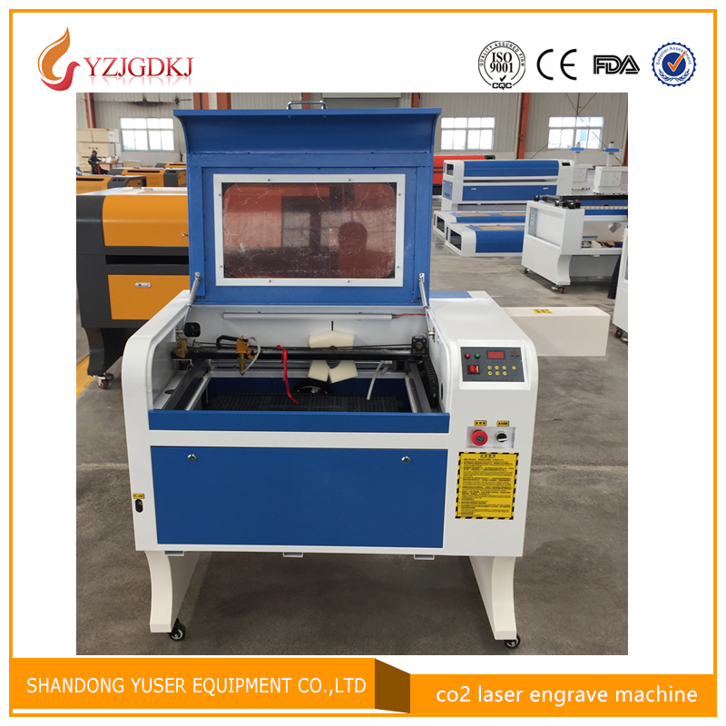 4060 Laser Engraving 600 400mm 80W Co2 Laser Cutting Machine with Honeycomb Specifical for Plywood Acrylic