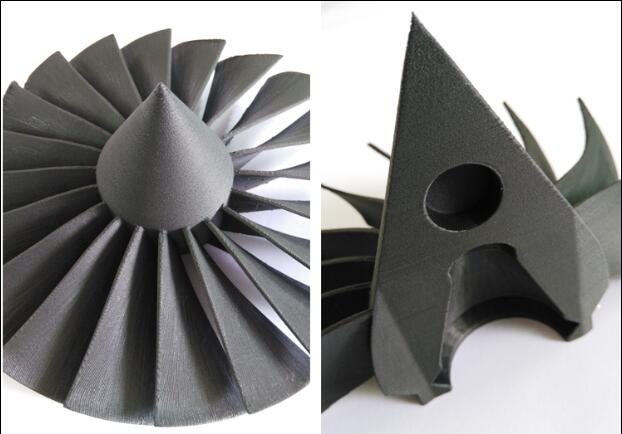 3D printing service for Nylon Carbon fiber parts by FDM technology, high strength for special field, Item No. ST0453D printing service for Nylon Carbon fiber parts by FDM technology, high strength for special field, Item No. ST045