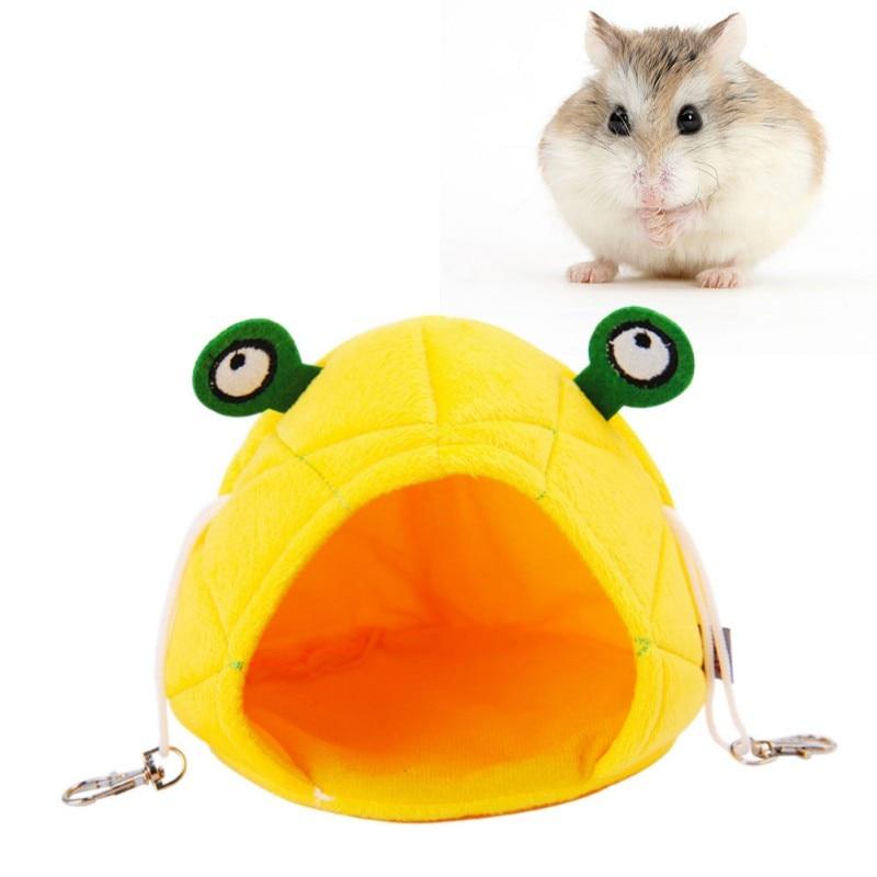 2018 Hamster Hammock Frog Cute design Small Animals Cotton Cage Sleeping Nest Pet Bed Rat Hamster Supplies Pet Accessories