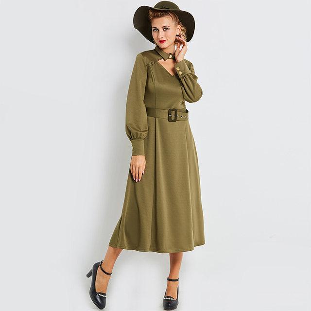 women vintage dress