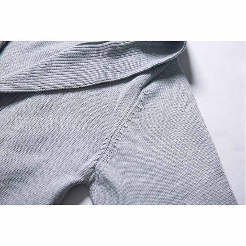Мужские свитера обычная, высокая, на выход черный готический плюс размер свободные с капюшоном Твердые Весна 2019 Модные Карманы серые Топы в готическом стиле