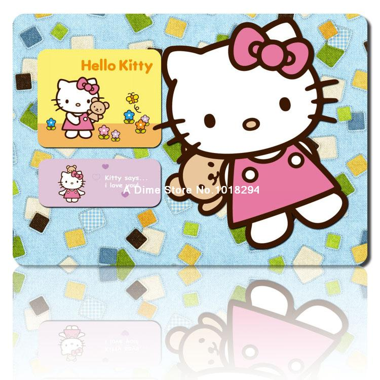 hello kitty mouse pad 2016 NEW mousepad laptop anime mouse pad gear notbook computer gaming mouse pad gamer play mats