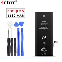 Original Antirr Phone Battery For iphone 5S Real Capacity 15