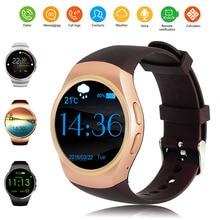 KW18 Smart Uhr Tragbare Geräte Unterstützung SIM Tf-karte MP3 Smartwatch Für Android IOS Smartphone 340 mAh Batterie 1,3 zoll IPS LCD
