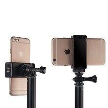 Kaliou универсальный выдвижная держатель-зажим для мобильного телефона для iPhone samsung Huaweixiaomi штатив монопод Selfie Stick
