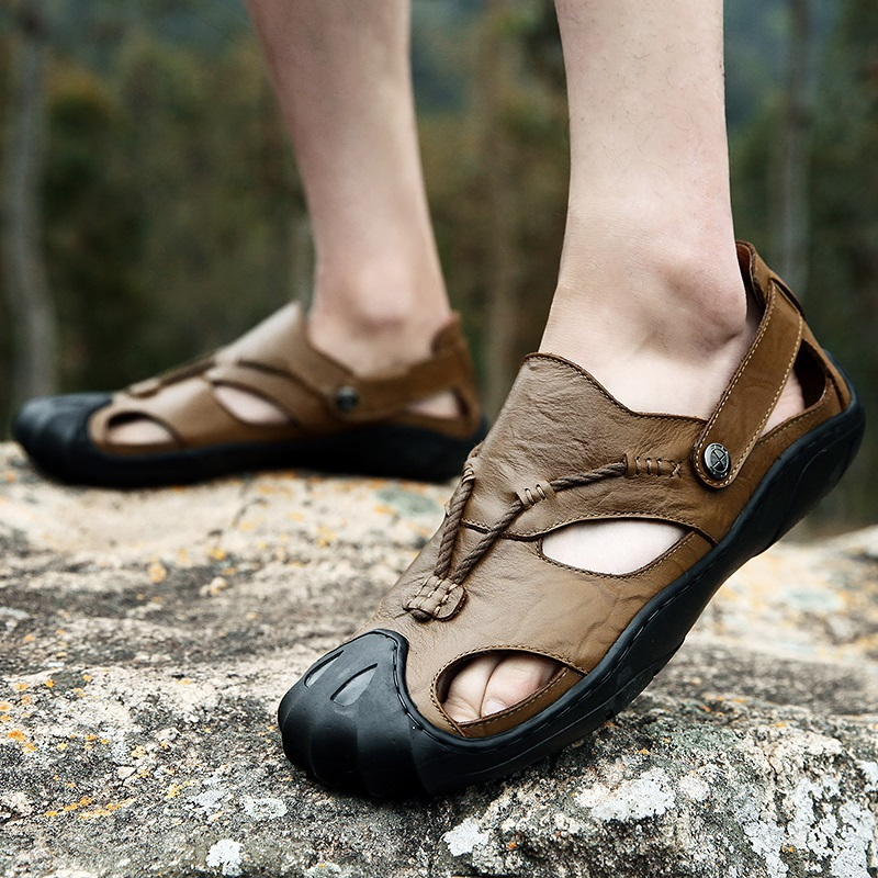 High Quality sandals genuine leather