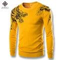 Homens Pullovers Camisolas Treino dos homens Moda Casual Slim Fit Espessamento Inverno Malha Suéteres e Pulôveres de Lã Pescoço Masculino