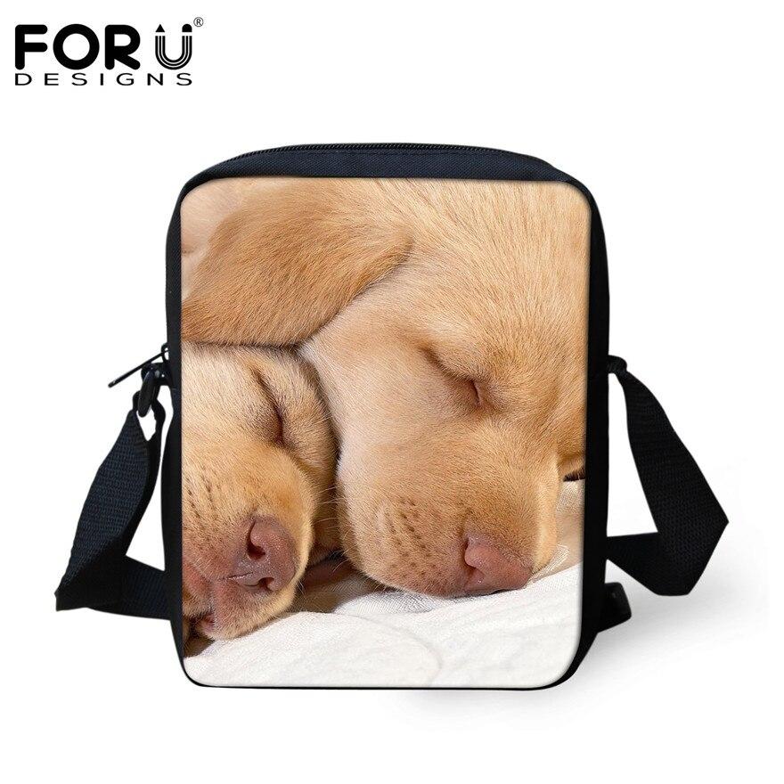 FORUDESIGNS/женская маленькая сумка через плечо с объемным рисунком собаки чихуахуа, модные женские сумки-мессенджеры, сумки через плечо - Цвет: H002E