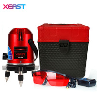 XEAST XE 10A Laser Level 5 Lines 6 Points Laser Line Leveling 360 Rotary Cross With