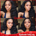 New Sexy Black Body Wavy Hair Glueless Brazilian Synthetic Lace Front Wig Heat Resistant Cheap Fashion Wavy Wigs For Black Women