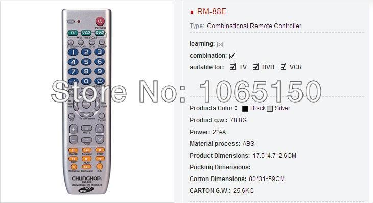 rm 88e es el ltimo 3 en 1 de control remoto universal en mandos a rh es aliexpress com chunghop rm-88e code list for tv chunghop rm-88e code list for tv