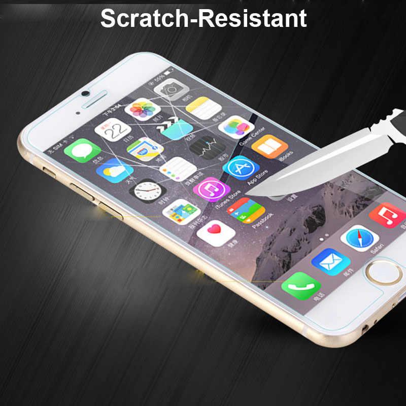 XSKEMP 2 Bảo Vệ Màn Hình Trong Cho iPhone 7 7Plus 4 4S 5 5S 6 6S plus 42mm 38mm iPod Nano 7 Bóng Kính Cường Lực Phim Bảo Vệ