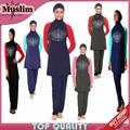 Alta Calidad Del Traje de Baño traje de baño musulmán ropa islámica ropa árabe Para Las Mujeres Musulmanes Malasia hijab islámico del traje de baño traje de baño