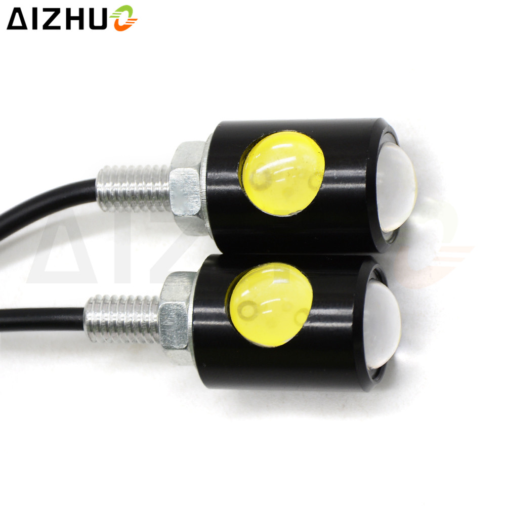 Universal 12V Motorcycle Turn Signal Light LED Decorative Blinker Lamp For Kawasaki ER6N Ninja 300 650 Z300 Z650 Z750 Z1000SX