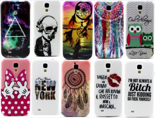 colorful tpu soft silicon cell phone cover cases for funda samsung