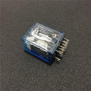 Image 3 - 10 セット MY4NJ HH54P DC 12 V 24 V 110 V 220 220v の Ac コイル電力リレー汎用ミニリレー 14 ピン 5A と PYF14A ソケットベース