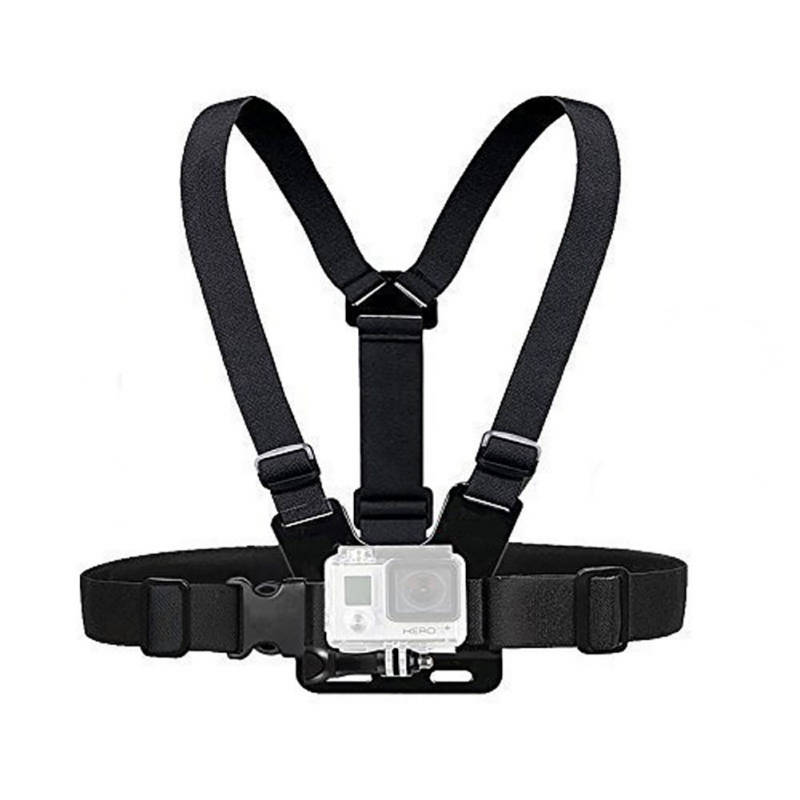 Single / Double Shoulder Strap Wrist Belt Elastic Arm Adjustable Headband HeadStrap Mount Screw Photography Accessories Cameras