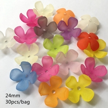 colors Acrylic Bend Beads