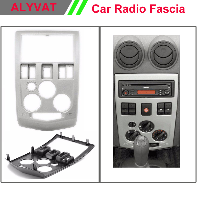 CAR Radio CD DVD installation dash mount kit stereo install for RENAULT Logan , Tondar 90 / Aprio / DACIA Logan for dacia logan saloon ls